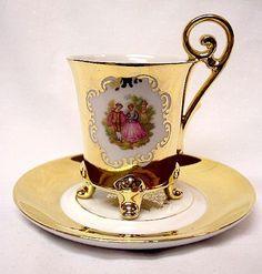 Bavarian teacup