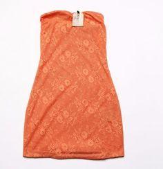 Rochie scurta de vara orange de la Sublevel Pret: 30 Lei Marimi: XS-XL 30th, Floral, Tops, Flowers, Flower