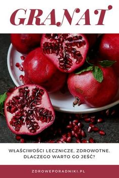 Jest to szczegółowy artykuł na temat granatu i jego korzyści dla zdrowia. Oto 12 opartych na dowodach sposobów w jaki sposób granat może poprawić twoje zdrowie. Nasiona granatu są bogate w witaminy, minerały i błonnik. Odkryj, co jeszcze sprawia, że ten rubinowy owoc powinien znaleźć się w twojej codziennej diecie.