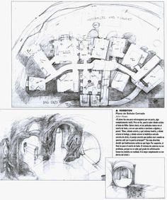 hobbit house plans architect The architectural plan for Bag