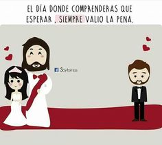 Gracias Dios Christian Messages, Christian Quotes, Jesus Cartoon, Christian Love, Inspirational Verses, Love Phrases, Bible Verses Quotes, Scriptures, God Loves Me