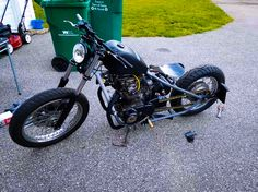 Deep Rooted Home Grown - 1976 Yamaha XS650.    http://xs650chopper.com/2016/07/deep-rooted-home-grown/