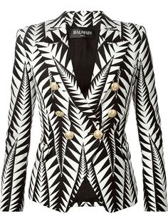 Compre Balmain Blazer jacquard em L'Eclaireur from the world's best independent boutiques at farfetch.com. Over 1500 brands from 300 boutiques in one website.