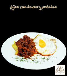 Jijas con huevos y patatas