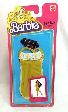 Mattel Best Buy Vintage Barbie Fashion Fringed Dress Headband #3633 Doll Costume | eBay