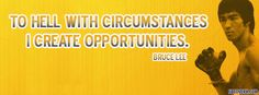 Opportunities by Bruce Lee Timeline Cover Photos, Facebook Timeline Covers, Great Quotes, Funny Quotes, Friends Come And Go, Bruce Lee Quotes, Late Night Thoughts, Cover Photo Quotes, Fb Covers