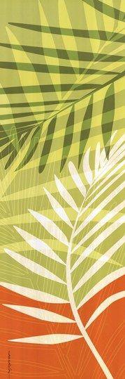 Tropical Leaf Art
