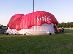 diameter FanZone for FIFA World Cup - 10 of them deployed around South Africa hosted almost ecstatic fans through the tournament! Giant Inflatable, Event Decor, Coca Cola, Shelters, Fifa, Birkenstock, Bespoke, South Africa, Outdoor Decor