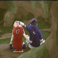 Imagen de sasusaku, sakura, and sasuke
