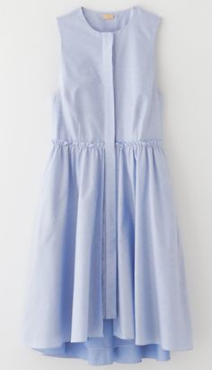 flounce layered shirtdress by katie ermilio for steven alan. Dress Skirt, Dress Up, Shirt Dress, Spring Dresses, Blue Dresses, Dress Summer, Women's Dresses, Cheap Dresses, Dresses Online