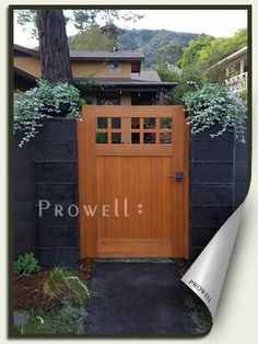 Prowell's Craftsman Fence Gate #4                                                                                                                                                      More
