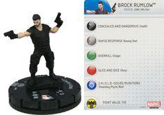 Brock Rumlow #010 Captain America: The Winter Soldier Marvel Heroclix Single