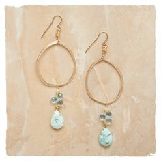 Shop Now! I found the Blue Ginger Earrings at http://www.arhausjewels.com/product/ea972/hoop-earrings. $226.00 #arhausjewels #hoop-earrings.