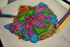 Butterfly full color design
