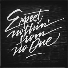Creative Lettering, Expect, Nothin, -, and Joan image ideas & inspiration on Designspiration Typography Images, Typography Layout, Vintage Typography, Typography Inspiration, Typography Letters, Typography Prints, Calligraphy Words, Script Lettering, Graffiti Lettering