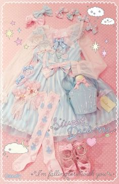 Angelic pretty...if ya wear this, ya no angel hahhh