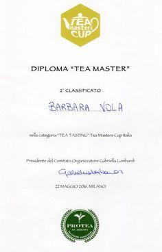 Master Tea Cup Italia 22 mag 2016