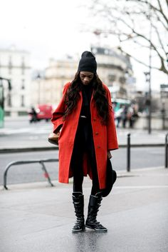 Paris Fashion Week Street Style Fall 2015 | POPSUGAR Fashion