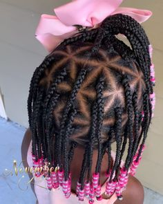 kids knotless box braids with beads / kids knotless box braids ` kids knotless box braids with beads ` kids knotless box braids styles ` kids knotless box braids with color ` kids knotless box braids medium Box Braids Hairstyles, Toddler Braided Hairstyles, Toddler Braids, Natural Hairstyles For Kids, Braids For Kids, Girls Braids, Kid Hairstyles, Kids Braids With Beads, Kid Braids