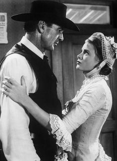 Gary Cooper & Grace Kelly in High Noon