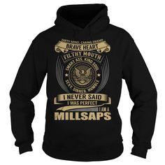 [Top tshirt name origin] MILLSAPS Last Name Surname T-Shirt Free Ship Hoodies, Funny Tee Shirts