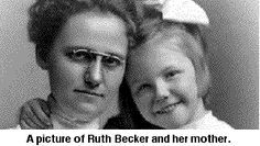 Ruth Becker was 12 years old in 1912 when she and her family travelled on the Titanic. After the sinking, she survived in Lifeboat #11. Ruth attended high school and college in Ohio, after which she taught high school in Kansas. She married a classmate, Daniel Blanchard, and after her divorce twenty years later, she resumed her teaching career. Like most survivors, she refused to talk about the sinking and her own children, when young, did not know that she had been on the Titanic.