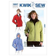 Mccall Pattern K3297 Xs-S-M-L-X-Kwik Sew Pattern