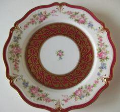 Handpainted  Limoges Plate  by Gerard Dufraisseix by LaCheriMaison, $50.00