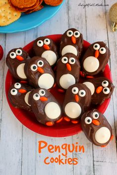 Penguin Cookies - The Perfect Holiday Recipe!