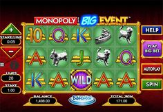 Have you tried this #casino #slot #wms #monopoly #lvhttps://www.bestcasino.org.uk/reviews/slots/monopoly-big-event