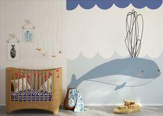 murales habitaciones infantiles Papeles pintados bonitos para niños