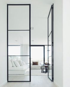 Minimalism is the maximum of efforts on a square metre #dcninteriors