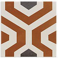 Art Gaugin Porcelain Wall and Floor Tile - 9 in