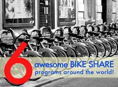 6 Awesome Bike Sharing Schemes From Around the World