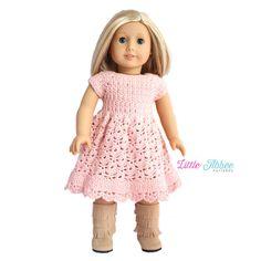 Download Now  CROCHET PATTERN 18 Spring Petal Dress by littleabbee ☆