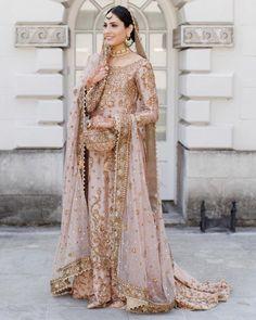 10 Best Pakistani Bridal Lehenga with Price - Buy lehenga choli online Asian Wedding Dress, Pakistani Wedding Outfits, Pakistani Bridal Dresses, Wedding Dresses For Girls, Bridal Outfits, Indian Dresses, Indian Outfits, Girls Dresses, Wedding Hijab