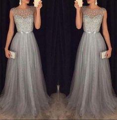 Hermosas propuestas de vestidos de noche