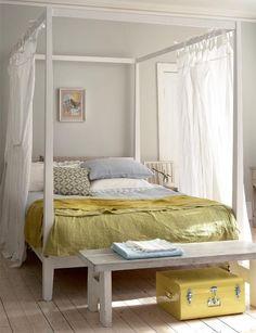 ideas white interior bedroom: elegant luxury (photos) - Part 9 White Bedroom, Dream Bedroom, Master Bedroom, Bedroom Decor, Summer Bedroom, White Canopy, Design Bedroom, Bedroom Bed, Bedroom Colors