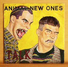 ANIMAL NEW ONES Talk - 7  Vinyl EP + Booklet Punk - Free inside Needs - Top RARE