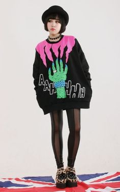 Omg this sweater rocks and the shoes are awesome too!