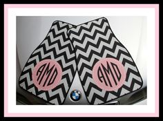 Car Mats Monogrammed Gift Ideas Car Accessories Car Mat Personalized Car Mats Monogrammed Car Mats by ChicMonogram on Etsy