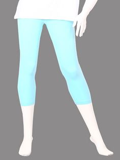 Twin Birds Aqua Marine Woman 3/4 Leggings