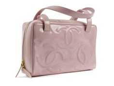 6bb3ceb413ce Chanel Pink Patent Tote Pink Tote Bags, Chanel Tote Bag, Bright Dress,  Chanel
