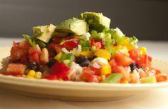 Black Beans & Brown Rice Extravaganza | The Engine 2 Diet