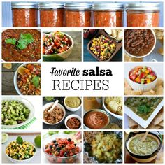 Favorite Salsa Recipes mountainmamacooks.com #TacoTuesday