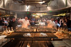 Green and Gold Bash features - tapas and paella by José Andrés ThinkFoodGroup.