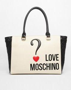 Love Moschino Logo Shopper