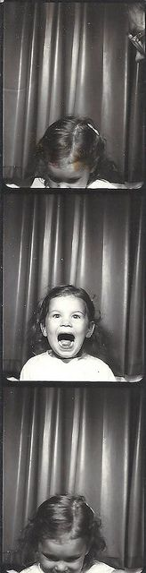 +~ Vintage Photo Booth Picture ~+  love her spunk!