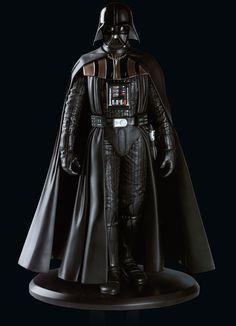 Estatua Darth Vader 23 cm. Star Wars. Elite Collection. Attakus Si eres fan vale la pena para tu colección esta conseguida estatua del personaje del malvado Darth Vader de 23 cm, fabricada en material de poliresina en un modelo finalizado, pintado y numerado a mano. Edición limitada a 3.000 unidades y 100% oficial y licenciada.