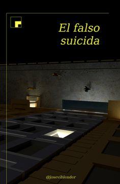 el falso suicidio, portada, portada novela, cover book Movie Posters, Movies, Cover Design, Novels, Films, Film Poster, Cinema, Movie, Film